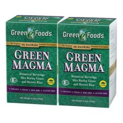 GREEN FOODS GREEN MAGMA BARLEY GRASS JUICE POWDER 150G X 2