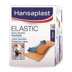 HANSAPLAST ELASTIC PLASTER STRIP 10S