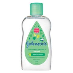 JOHNSON BABY OIL ALOE VERA 125ML