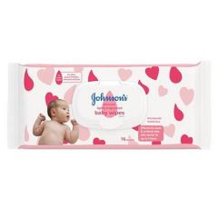 JOHNSONS SKINCARE BABY WIPES LIGHTLY FRAGRANCED 75S