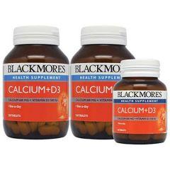 BLACKMORES  CALCIUM+D3 TABLET 120S X 2 + 30S