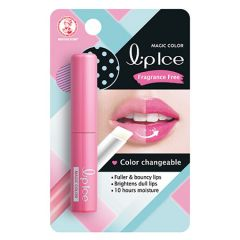 MENTHOLATUM LIPICE MAGIC COLOR LIP BALM FRAGRANCE FREE 2G