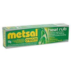 METSAL ANALGESIC CREAM HEAT RUB 50G