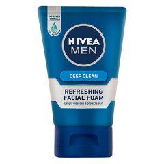 NIVEA FOR MEN DEEP CLEAN FACIAL FOAM 100G