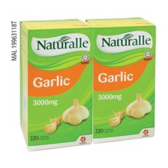 NATURALLE GARLIC 3000MG 220C X 2