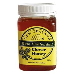 NEW ZEALAND CLOVER HONEY 500G