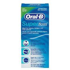 ORAL B SUPERFLOSS MINT 50S