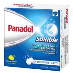 PANADOL SOLUBLE 20T