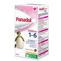 PANADOL SUSP 1-6 YRS 60ML