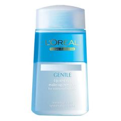 LOREAL GENTLE LIP AND EYE MAKE-UP REMOVER 125ML