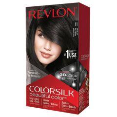 REVLON COLORSILK 11 SOFT BLACK 59ML