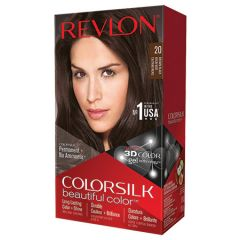 REVLON COLORSILK 20 BROWN BLACK 59ML