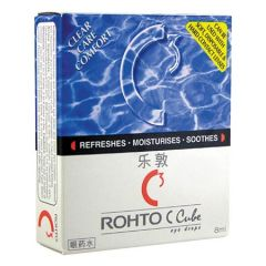 ROHTO C CUBE EYE DRP 8ML