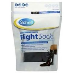 SCHOLL COMPRESSION FLIGHT SOCKS 3-6