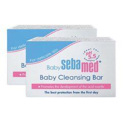 SEBAMED BABY CLEANSING BAR 2 X 100G
