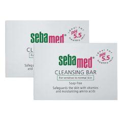SEBAMED CLEANSING BAR 150G X 2