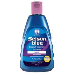 SELSUN BLUE 2-IN-1 DANDRUFF TREATMENT SHAMPOO 200ML
