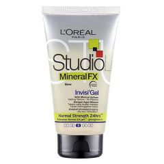 LOREAL STUDIO LINE MINERAL FX INVISI HAIR GEL - NORMAL STRENGTH 150ML