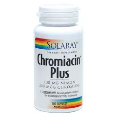 SOLARAY CHROMIACIN PLUS 100S