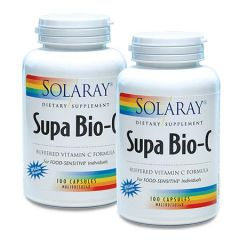 SOLARAY SUPA BIO-C 500MG 120S X 2