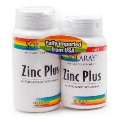 SOLARAY ZINC PLUS 100S + 30S