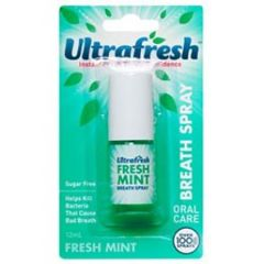 ULTRA FRESH BREATH SPRAY MINT 12ML
