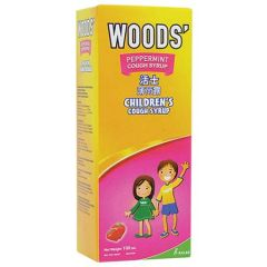 WOODS PEPPERMINT COUGH SYRUP CHILDREN 100ML