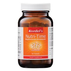 KORDELS NUTRI-TIME MULTIVITAMINS & MINERALS TABLET 30S