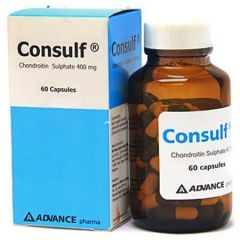 CONSULF CHONDROITIN SULPHATE 400MG CAPSULE 60S