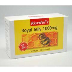 KORDELS ROYAL JELLY 1000MG CAPSULE 30S X 3