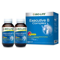 BiO-LiFE EXECUTIVE B COMPLEX TABLET 100S X 2