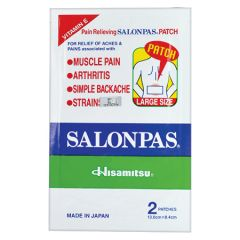 SALONPAS PATCH LARGE 2S