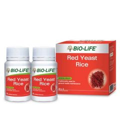 BiO-LiFE RED YEAST RICE CAPSULE 30S X 2