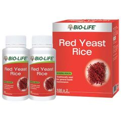 BiO-LiFE RED YEAST RICE CAPSULE 100S X 2