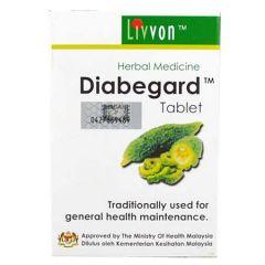 LIVVON DIABEGARD HERBAL MEDICINE FOR GENERAL HEALTH TABLET 120S