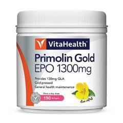 VITAHEALTH PRIMOLIN GOLD EVENING PRIMROSE OIL (EPO) 1300MG SOFTGEL 150S