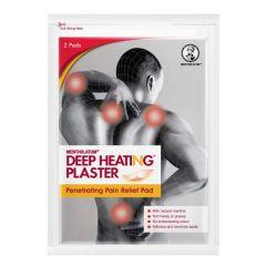 MENTHOLATUM DEEP HEATING PLASTER PENETRATING PAIN RELIEF PAD 2S