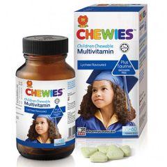 CHEWIES CHILDREN CHEWABLE MULTIVITAMIN + TAURINE TABLET 60S