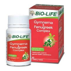 BiO-LiFE GYMNEMA & FENUGREEK COMPLEX TABLET 30S