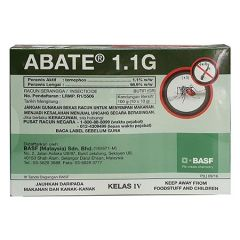 ABATE 1.1G AEDES MOSQUITO LARVAE KILLER 10G X 10 (100G)