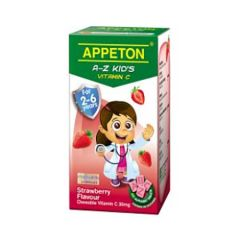 APPETON A-Z KIDS VITAMIN C 30MG (STRAWBERRY) CHEWABLE TABLET 100S