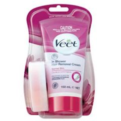 VEET IN SHOWER HAIR REMOVAL CREAM - NORMAL SKIN 150ML