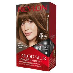 REVLON COLORSILK 43 MEDIUM GOLDEN BROWN 59ML