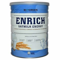 BIOGREEN ENRICH OATMILK ENERGY 850G