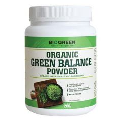 BIOGREEN ORGANIC GREEN BALANCE POWDER 200G