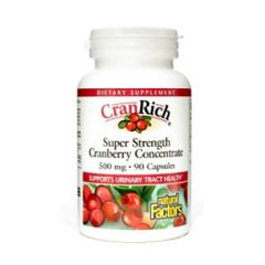 NATURAL FACTOR CRANRICH CRANBERRY CONCENTRATE 90C