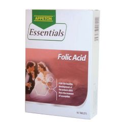 APPETON ESSENTIALS FOLIC ACID TABLET 90S