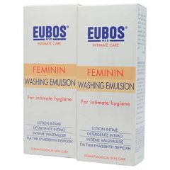 EUBOS FEMININ WASHING EMULSION 200ML X 2