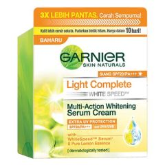 GARNIER LIGHT WHITE SPEED DAY CREAM 50ML