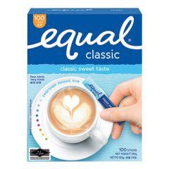 EQUAL CLASSIC SWEETENER TASTE STICK 100S